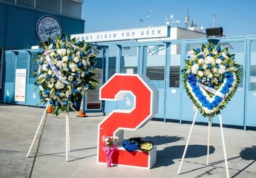 Dodgers Honor Tommy Lasorda At Dodger Stadium Retired Number & Seat