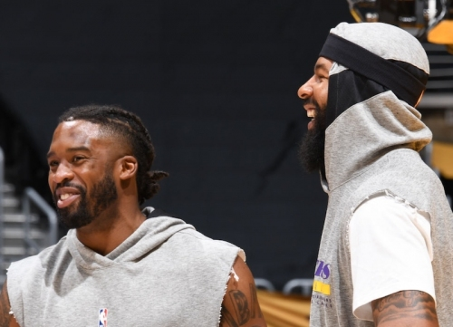 Why The Lakers Started Wesley Matthews, Markieff Morris Against Bulls