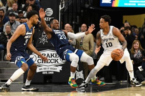Game Thread: San Antonio Spurs at Minnesota Timberwolves