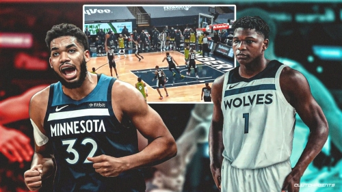 VIDEO: Timberwolves rookie Anthony Edwards commits rookie blunder in OT loss