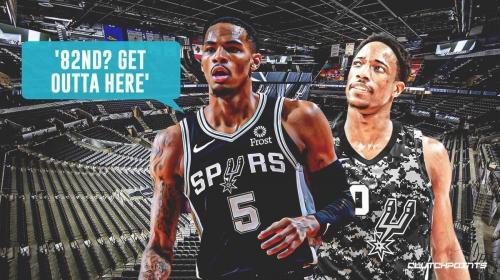 Spurs' Dejounte Murray calls out DeMar DeRozan's No. 82 ESPN ranking after 38-point night