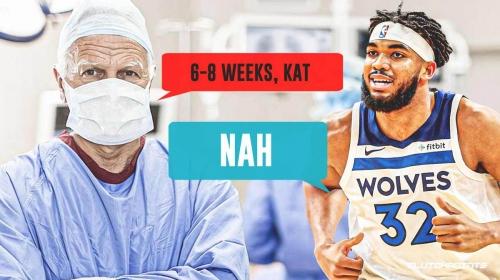 Timberwolves star Karl-Anthony Towns' NSFW mindset before shattering 6-8-week timetable