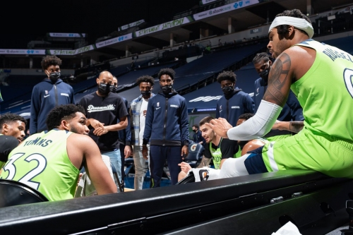 Dane Moore NBA Podcast: KAT says, 'F*** It, Let's Play'