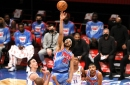 Kevin Durant's 36-point double-double not enough as Nets crumble to Thunder, 129-116