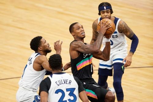 San Antonio at Minnesota, Final Score: Spurs fall short of toppling the Timberwolves, 88-96