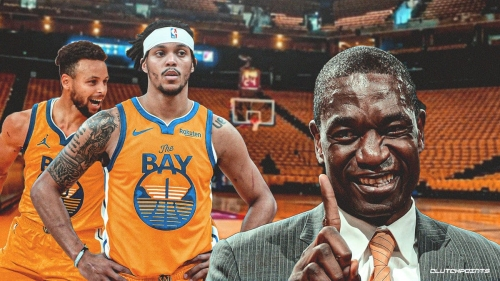 Damion Lee busts out Dikembe Mutombo finger wag for game-winning free-throws for Warriors
