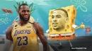 Lakers star LeBron James on Talen Horton-Tucker: 'He's a sponge'