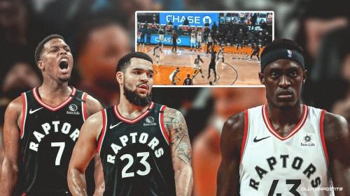 Pascal Siakam was 'Plan B' on Raptors' final play vs. Warriors, admits Nick Nurse