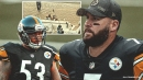 VIDEO: Ben Roethlisberger, Maurkice Pouncey sulk on bench with retirement talk looming