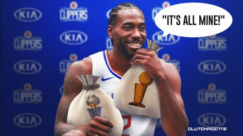 Clippers star Kawhi Leonard's 'greedy' warning to NBA after surpassing 10,000 career points
