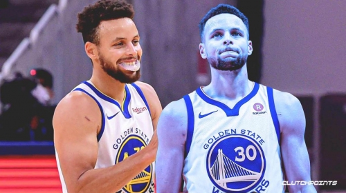 Stephen Curry reacts to Warriors beating Raptors despite career-worst shooting night