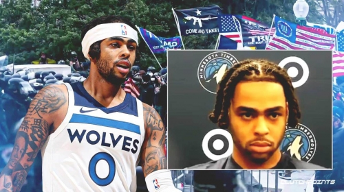 Timberwolves' D'Angelo Russell holds impromptu media roundtable on U.S. Capitol riots