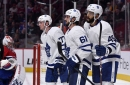 Leafs practice lines and special teams as roster cuts are made