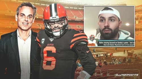 Browns QB Baker Mayfield trolls Colin Cowherd after beating Steelers in playoffs