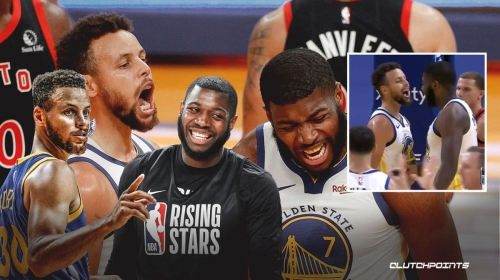 Stephen Curry's 'awful' high-five gets mocked by Warriors teammate Eric Paschall