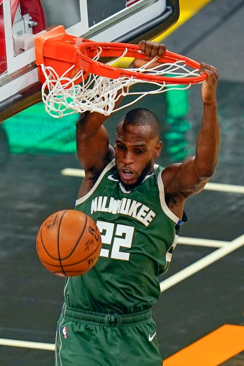 Images from the Bucks' 121-99 victory over the Magic
