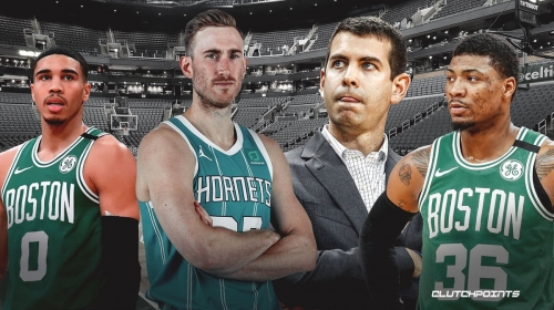 Did Hornets' Gordon Hayward just throw shade at the Celtics after another big game?
