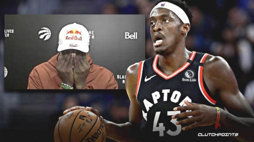 Raptors star Pascal Siakam's 5-word reaction to missing another game-winner