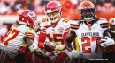 Chiefs' Patrick Mahomes speaks out on facing old teammate Kareem Hunt in playoffs