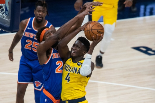Victor Oladipo questionable for Pacers-Warriors