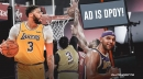 Anthony Davis' DPOY candidacy gets early boost from Jared Dudley