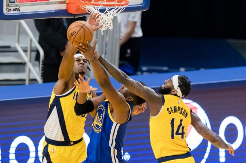 Myles Turner dominates in Indiana Pacers' comeback to beat Golden State Warriors