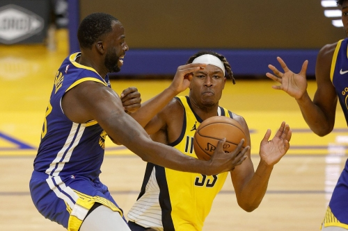 Warriors go cold in second half, lose to Pacers