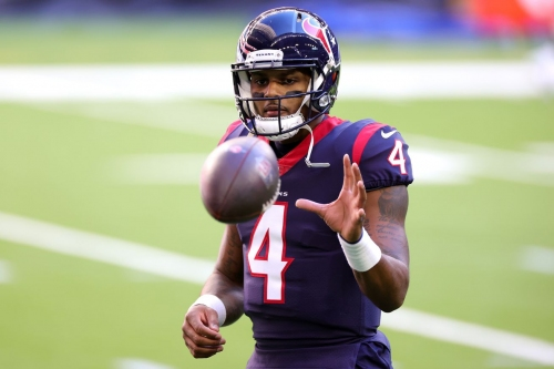 Oddsmakers see Patriots as potential landing spot if Deshaun Watson gets traded