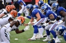 Giants' offensive line: Tumultuous year, but hope going forward