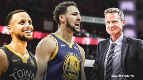 Warriors star Klay Thompson gives Steve Kerr encouraging update on Achilles injury