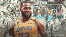 Lakers' Dennis Schroder reveals how much he bet LeBron James on no-look 3-pointer