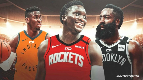 BREAKING: Rockets get Victor Oladipo in blockbuster James Harden trade