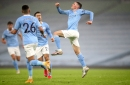 Pep Guardiola reacts to Phil Foden's display and Raheem Sterling's shocking penalty after Manchester City's win over Brighton