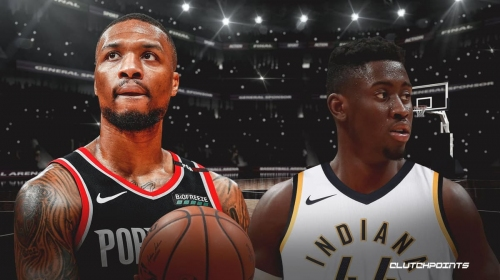 Damian Lillard's take on Caris LeVert heading to Pacers in James Harden, Victor Oladipo trade