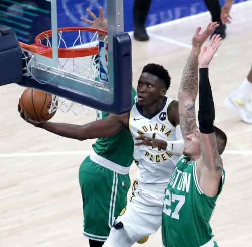 Doyel: Victor Oladipo didn't want to be here, so the Pacers replaced him with Caris LeVert