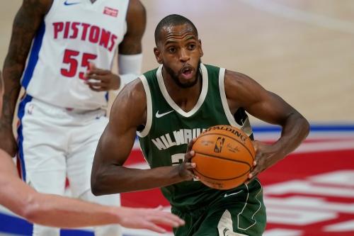 Detroit Pistons vs. Milwaukee Bucks: Photos from Little Caesars Arena