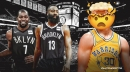 Stephen Curry's honest reaction to James Harden trade to Nets
