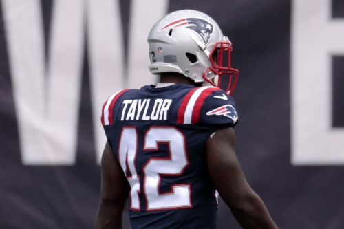 Rookie J.J. Taylor left a positive impression despite playing just six games in 2020