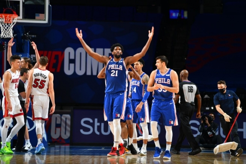 Sixers look for second win vs. Heat with more players nearing return