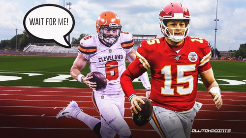 Browns' Baker Mayfield ready for challenge of keeping up with Chiefs' Patrick Mahomes