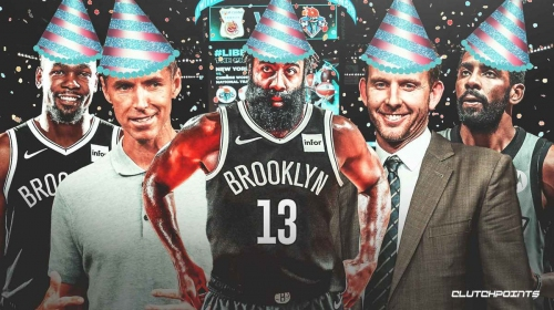 James Harden officially welcomed by Nets after blockbuster trade