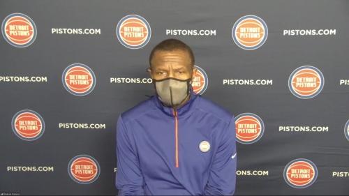 Detroit Pistons' Dwane Casey liked what he saw from Svi Mykhailiuk, Saben Lee vs. Bucks