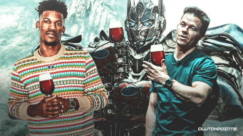 Jimmy Butler reveals Mark Wahlberg peer pressure led to first glass of wine