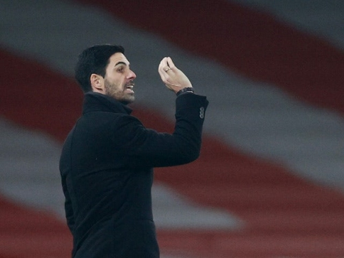 Mikel Arteta pleased with Arsenal's spirit against Crystal Palace