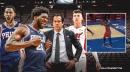 Sixers star Joel Embiid hilariously tells Heat's Erik Spoelstra to call timeout