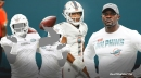 Dolphins' Brian Flores defends Tua Tagovailoa after anonymous teammates rip him apart