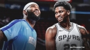 Rockets' DeMarcus Cousins' creative dap with Rudy Gay screams new normal
