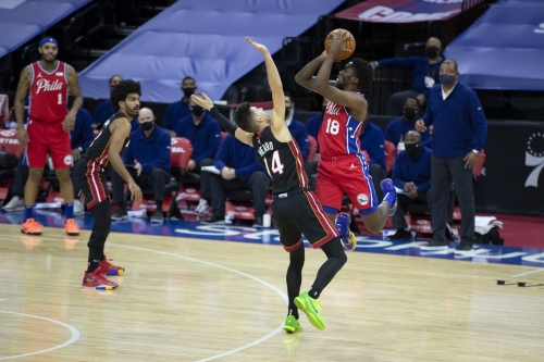 Sixers Bell Ringer: A nearly full Sixers roster routs Miami