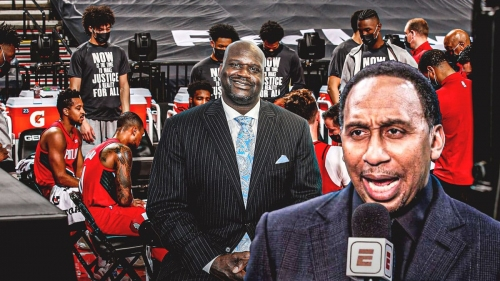 Shaq gets called out by Stephen A. Smith for ridiculous take on Blazers