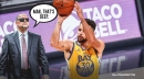 How not to defend Stephen Curry's 'otherworldly' deep shots, per Nuggets coach Michael Malone